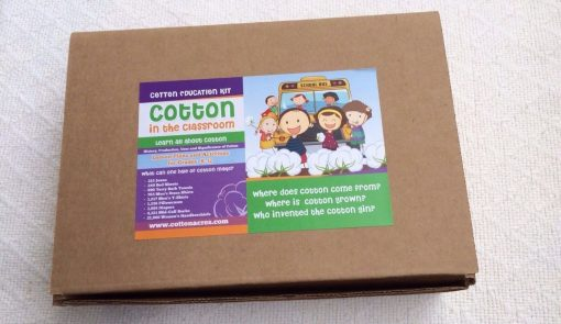 education kit for cotton K-12