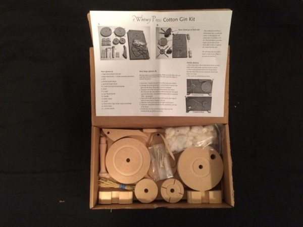 eli whitney kit for school project