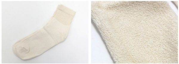 organic short crew cotton socks