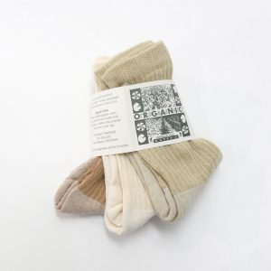 organic socks mixed colors