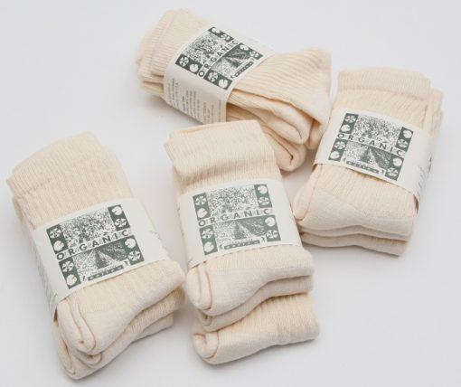regular crew socks organic