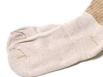 brown short top socks